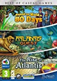 Around the World in 80 Days, Rise of Atlantis and Atlantis Quest - Triple Pack - (PC DVD)