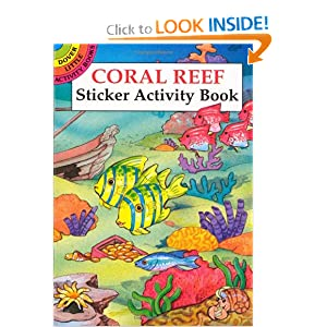 Coral Reef Sticker Activity Book (Dover Little Activity Books) Cathy Beylon
