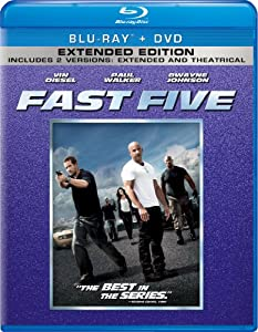 Fast Five - Extended Edition (Blu-ray + DVD)
