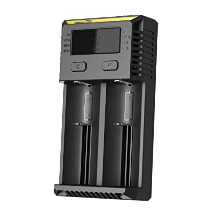 2016 version Nitecore New i2 Intellicharge Universal Smart Battery Charger for 18650 AAA AA Li-Ion/NiMH US Plug