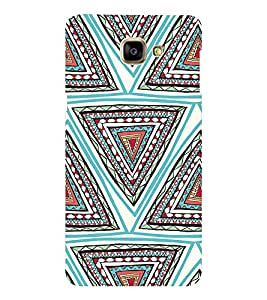 EPICCASE ethnic angles Mobile Back Case Cover For Samsung Galaxy A9 (Designer Case)