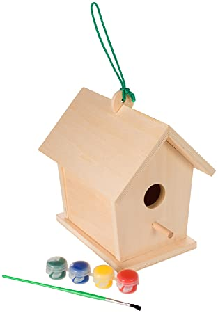 AmazonSmile: Toysmith Build and Paint a Birdhouse: Toys & Games