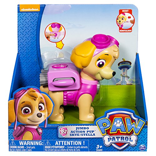 Paw Patrol Jumbo Action Pup Toy, Skye - 1
