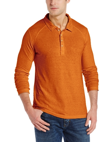 Gramicci Men's Lodge Polo Shirt, Harvest Orange, XX-Large