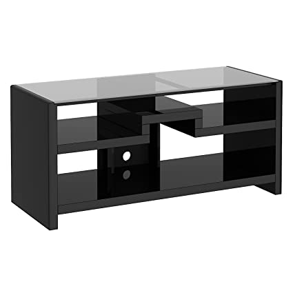 Bush Furniture Kathy Ireland Office New York Skyline 3-In-1 Gaming Center/TV Stand, Mocha Finish