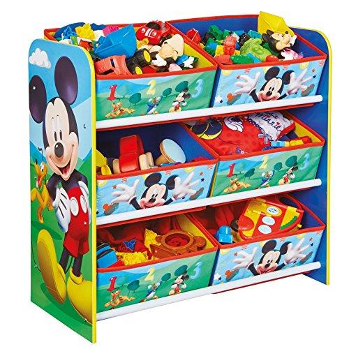 hellohome-topolino-bambini-cassettiera-legno-multicolore