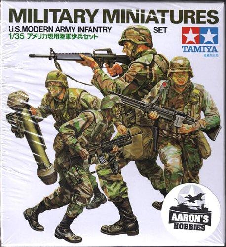 Tamiya 1:35 U.S. Modern Army Infantry Set