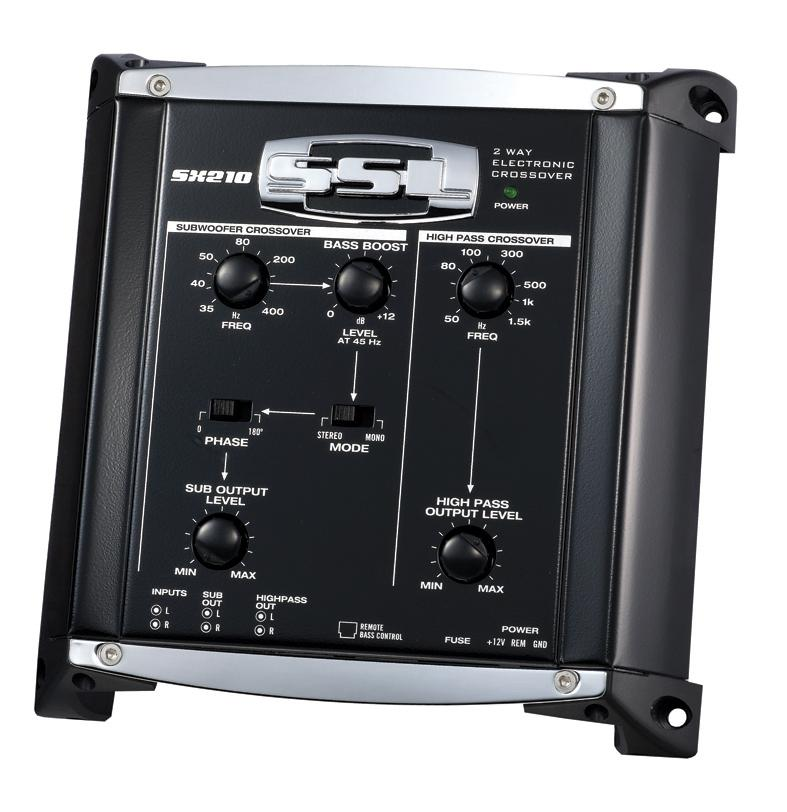 ssl sx210 2 way pre amp electronic crossover. Black Bedroom Furniture Sets. Home Design Ideas