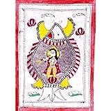 """Kunst aus Indien Malerei Madhubani Biologisches Farbpapier 29 x 42 cmvon """"ShalinIndia"""""""