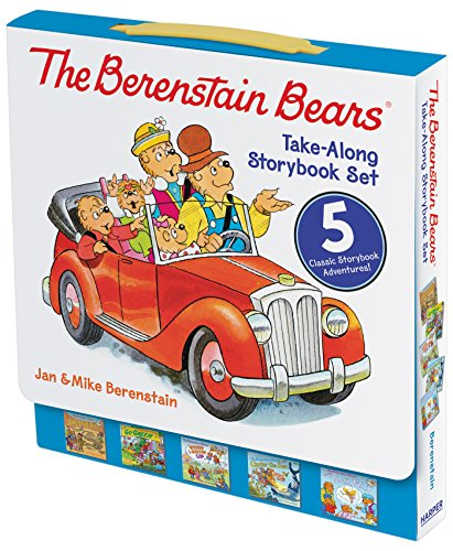The Berenstain Bears Take-Along Storybook Set: Dinosaur Dig, Go Green, When I Grow Up, Under the Sea, The Tooth Fairy (Berenstain Bears Tooth Fairy compare prices)