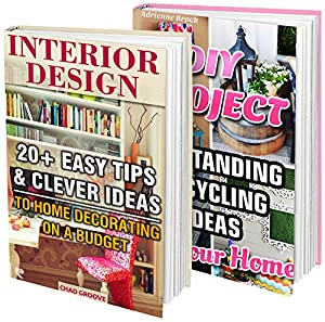 DIY Projects & Interior Design BOX SET 2 IN 1: 40 Easy Tips & Clever Ideas For Decorating Your Home On A Budget: (DIY projects, DIY household hacks, DIY ... ideas for home, DIY decoration ideas)