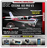 The Cessna 182 Pro Series V3 Electric RTF RC Plane w/ 2.4 Radio