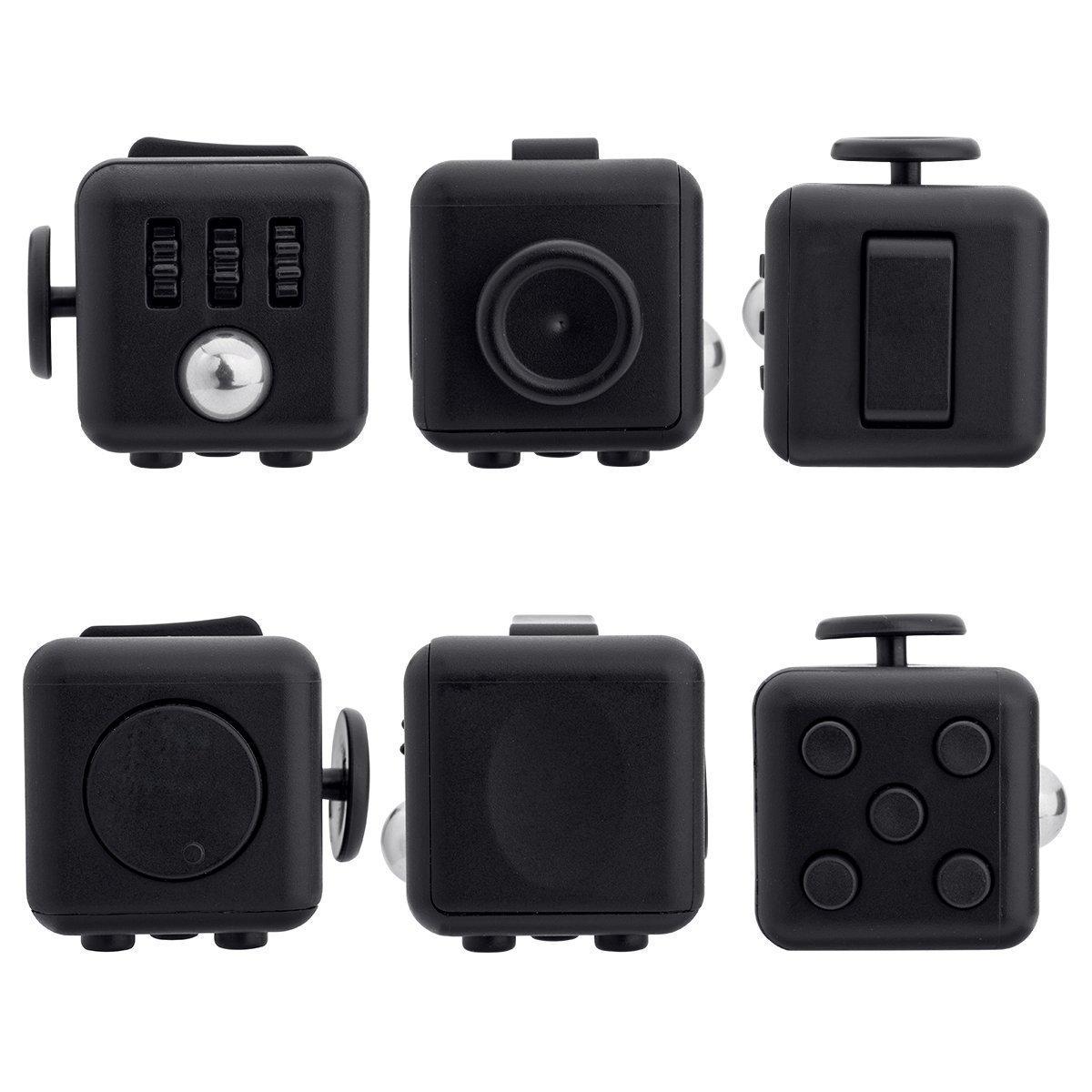 Black Fidget Cube