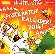 Nichtlustig Postkartenkalender 2014