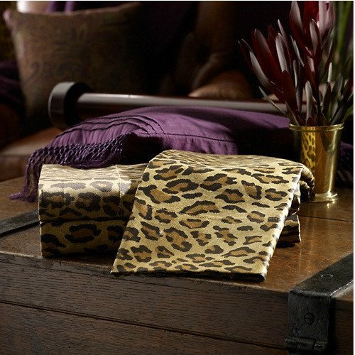 Leopard Sheets King front-1026218