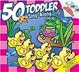 50 Toddler Sing-Along Songs 2 CD Set