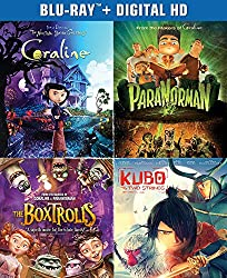 The Ultimate Laika Collection (Kubo and the Two Strings / The Boxtrolls / ParaNorman / Coraline) (Blu-ray + Digital HD)
