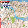 Plan de New York, Manhattan , Brooklyn Downtown, m�tro syst�me complet [2013]