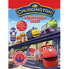 Chuggington Giant Coloring Book Traintastic Crew! Paperback