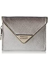 Rebecca Minkoff Molly Metro Leather Keychain Wallet