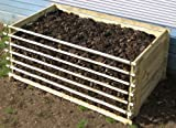 Easy-Load Wooden Compost Bin - Extra Large - 897 Litres