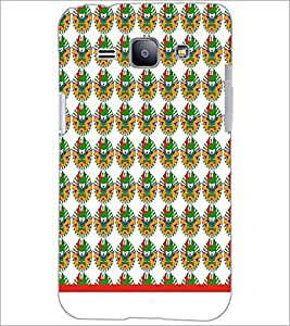 PrintDhaba Pattern D-1542 Back Case Cover for SAMSUNG GALAXY J1 (Multi-Coloured)