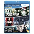 Action Triple Feature: Vol. 2 (Spoils of War / Bloodrayne / Ultiamte Heist) [Blu-ray] (Bilingual)