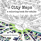 img - for City Maps: A coloring book for adults book / textbook / text book