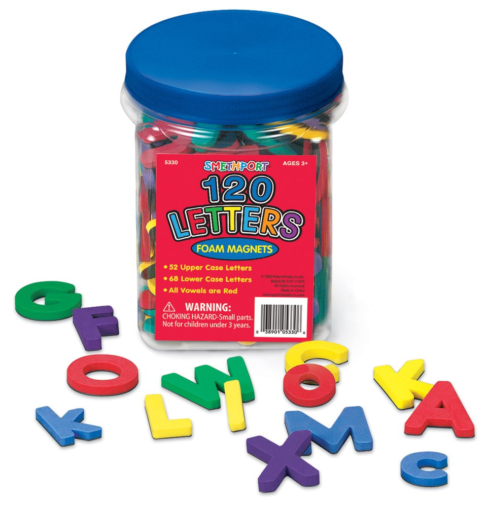 buy smethport 120 foam magnetic letters online at low prices in india amazonin