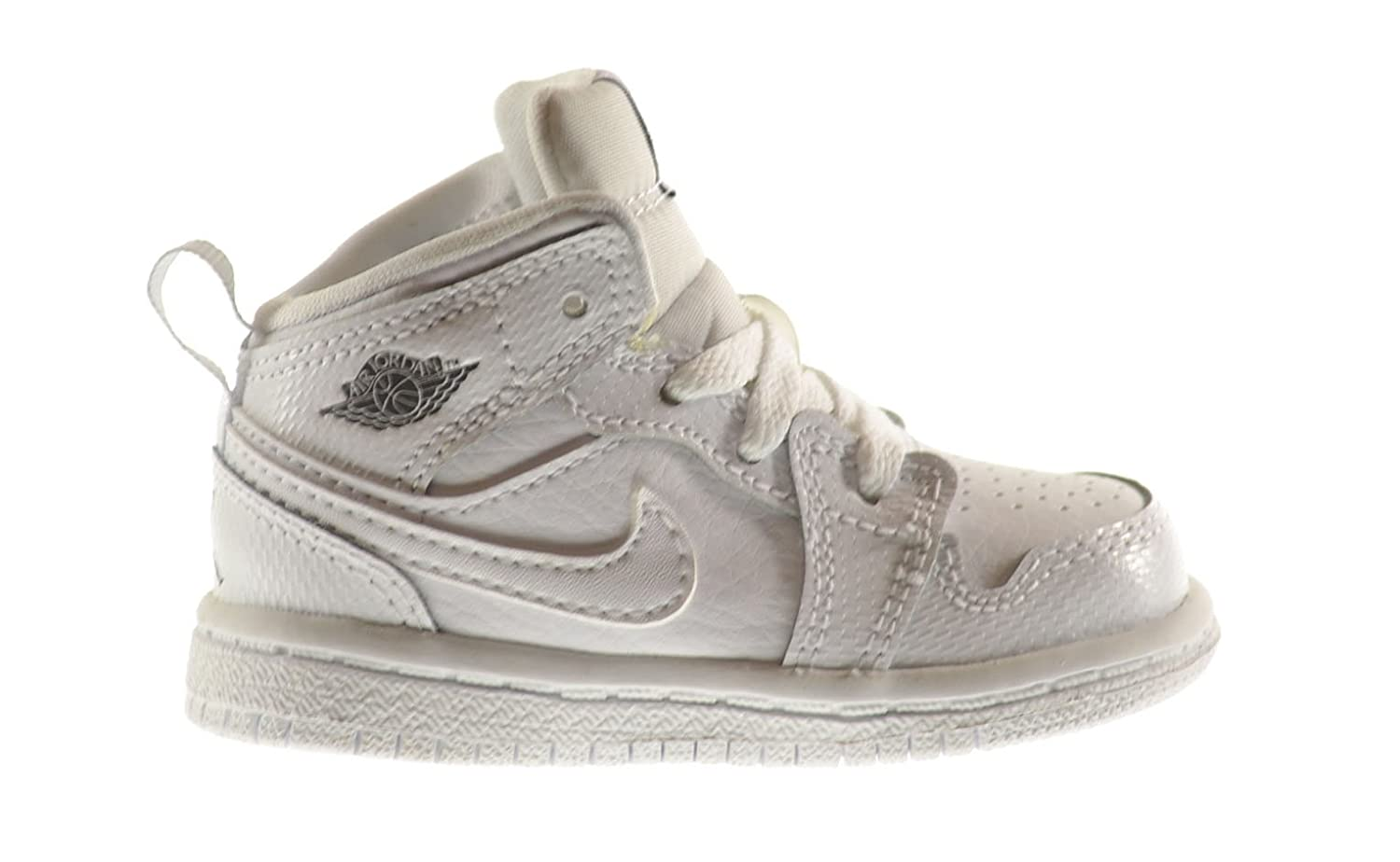 los angeles d8a04 2c9a1 Air Jordan 1 Mid BT Baby Toddler Shoes White/Cool Grey-White 640735-120 (8  M US)   $120 - Buy today!