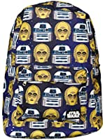 Loungefly Star Wars R2D2 & C3P0 Backpack