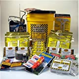 Emergency Survival Kit Bucket - Deluxe - 4 Person