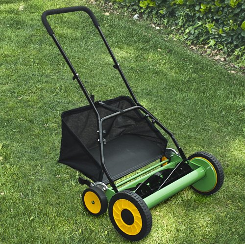 how to cut grass with a push mower