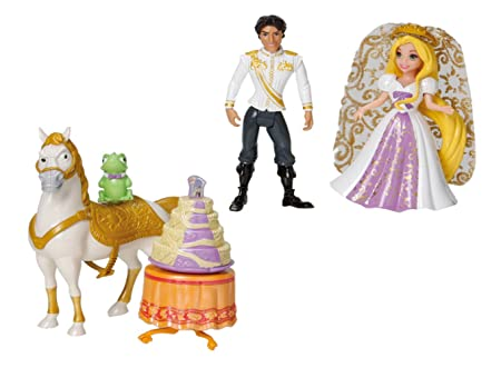 Disney Princesses - X5113 - Poupée et Mini-poupée - Coffret Mariage Raiponce