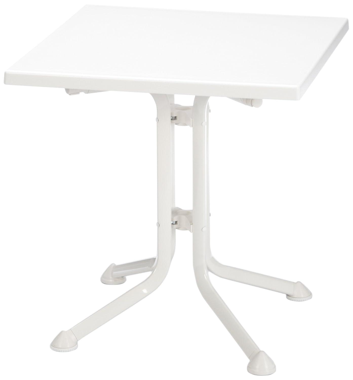 Kettler 03124-810 Klapptisch 70 x 70 cm, weiß günstig