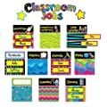 Creative Teaching Press Mini Bulletin Board Set, Poppin' Patterns Classroom Jobs (3807)