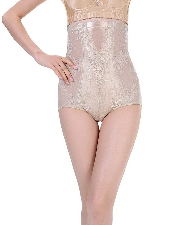 Bigood 1*Miederbody Damen Miederpants Body Miederslips mit Profil Hoch Taille Efenbein online kaufen