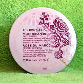 Body Shop Moroccan Rose Body Butter 6.75 Oz.
