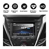 RUIYA 2012-2017 Hyundai Veloster 7-Inch In-Dash Screen Protector, HD Clear TEMPERED GLASS Car Navigation Screen Protective Film