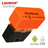Launch iCarScan Super X431 Idiag Full Systems Diagnostic Tool Bluetooth Scanner for Android/IOS with 10 Free Software Update Online