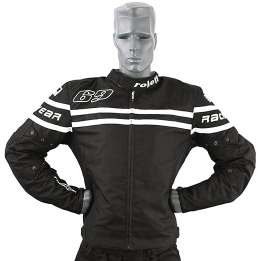 Roleff Racewear 7577 Blouson Moto Textile Budapest, Noir, XXXL