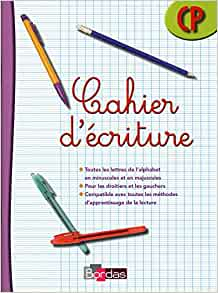 Cahier d'ecriture CP (French Edition): 9782047325384: Amazon.com