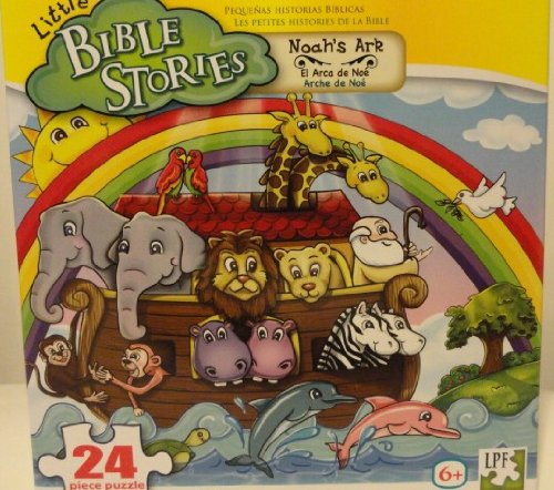 Little Bible Stories 24 Piece Puzzle - Noah's Ark