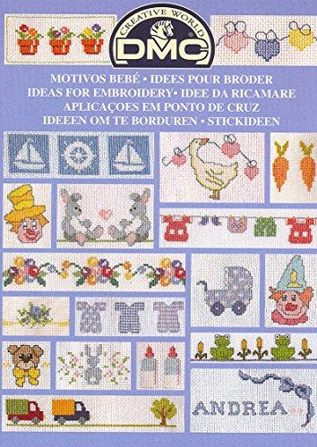 Livre: Idées pour broder - bébé 12914/22
