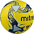 Mitre Primero Training Ball, White/Navy/Silver - Size - 5