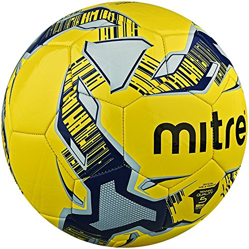 Mitre-Primero-Ballon-dentranement-BlancMarineArgent-Taille-5