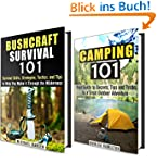 Camping and Bushcraft Survival Box Se...