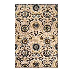 Riva Carpets Cochiagra Antique Wool Area Rug (Cochi Teal)
