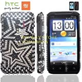 htc EVO 3Dケース shiny decoration Case (au ISW12HT対応)【ハンドメイド/デコ電】【Shooting star(流星)】