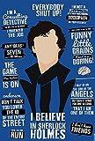 Alter Ego I Believe In Sherlock Holmes - Sherlocked Poster